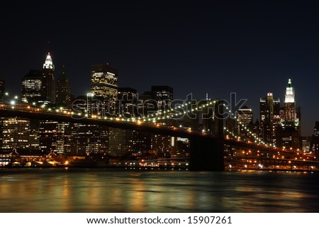 night - New York City, USA