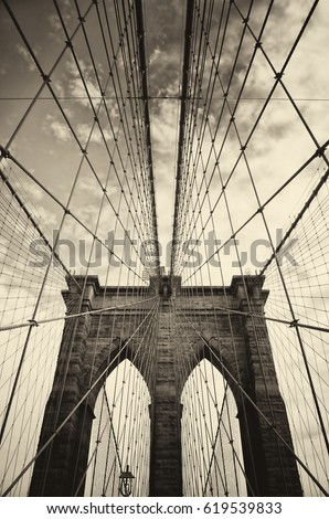 brooklyn bridge in new york is...