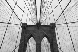 Brooklyn Bridge, New York, USA.