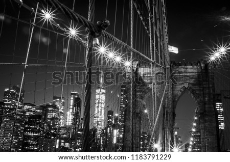 Brooklyn Bridge NY #1183791229