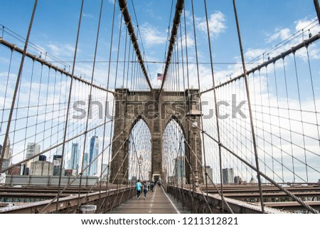 Brooklyn Bridge Walk #1211312821
