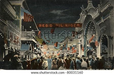 brooklyn  new york   circa 1912 ...