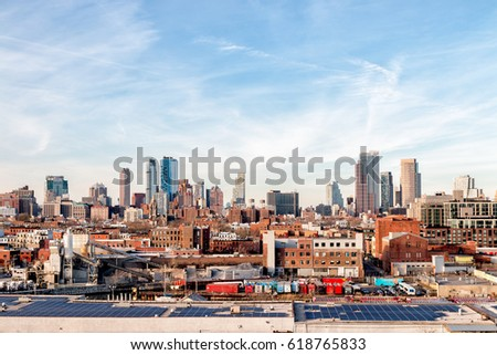 Brooklyn Skyline - New York City