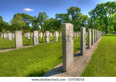 brookside war memorial cemetery in Winnipeg, Manitoba