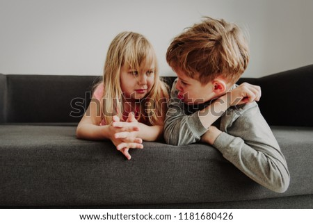 brother and sister rivalry, dispute, anger, disagreement #1181680426