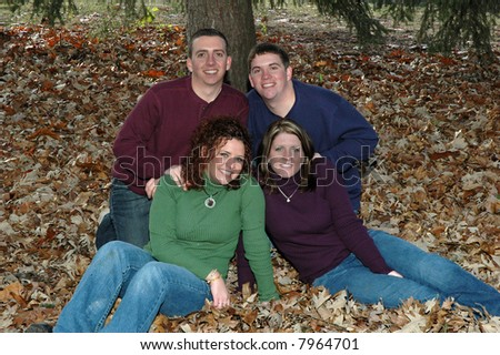 brothers and sisters in leaves