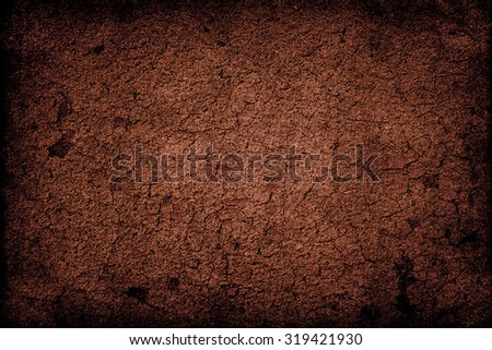 Brown abstract background. Grunge wall texture