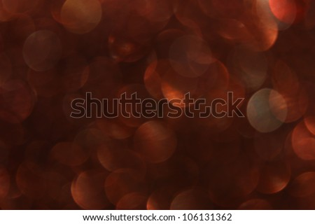 brown abstract lights background