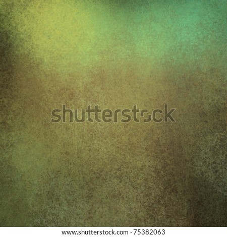 brown and green background with dirty grunge texture