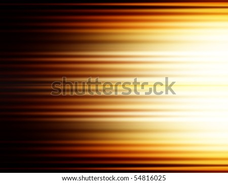 brown and yellow horizontal lines with ligth. Illustration