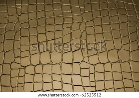 brown background with crocodile skin pattern