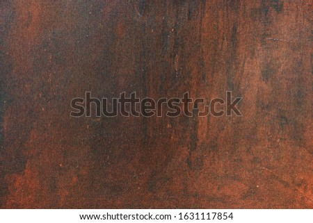 Brown background with stains. Brown paper texture. Vintage and grunge background.