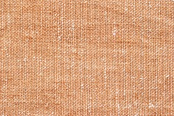 Brown canvas fabric for background, linen texture background
