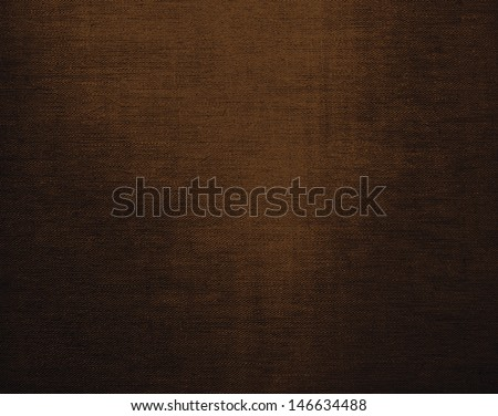 Brown canvas grunge background texture