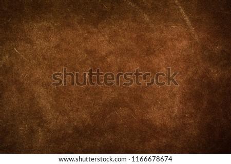 Brown canvas texture background. #1166678674