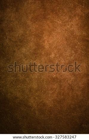 Brown canvas texture background. #327583247