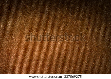 Brown canvas texture background. #337569275