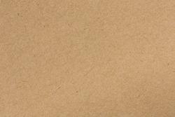 Brown cardboard sheet of paper background