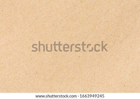 Brown cardboard sheet of paper background Photo stock ©