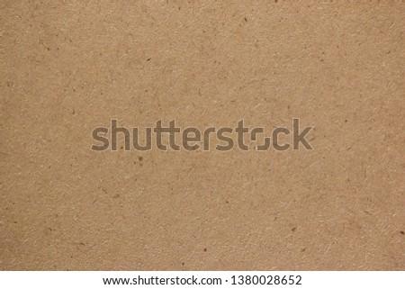 Brown cardboard sheet paper for design background #1380028652