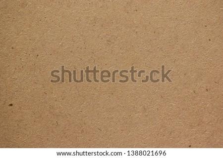 Brown cardboard sheet paper for design background #1388021696