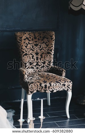 brown chair #609382880