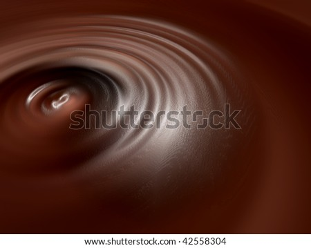 Brown chocolate waves texture with light effects