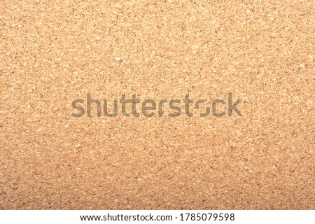 Brown color of cork board with copy space. Textured wooden background. Notice board ,memo board or bulletin board image.