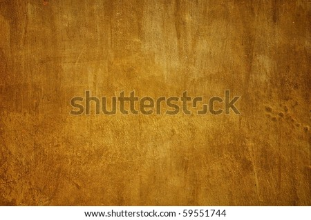 Brown color painting wall