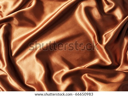 Brown colored fabric as texture