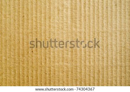 brown corrugated cardboard as background