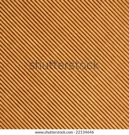 Brown corrugated cardboard sheet background