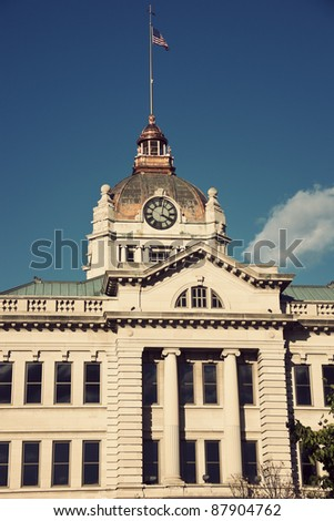 Brown County Courthouse in Green Bay, Wisconsin.