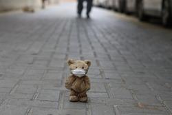 brown cute Teddy Bear stuff toy
