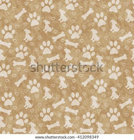 Brown dog bone background - photo#4