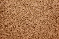 Brown doormat texture background.