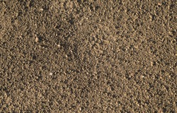 Brown earth and gravel macro texture background