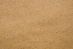 Brown eco recycled kraft paper sheet texture cardboard background