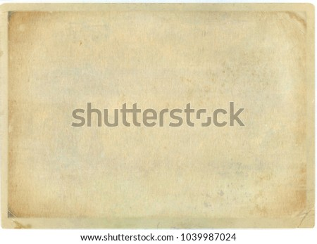 brown empty old vintage paper background. Paper texture - Shutterstock ID 1039987024