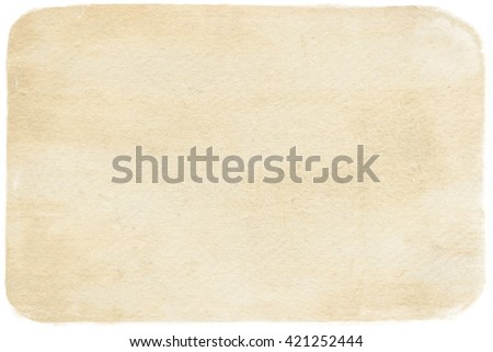 brown empty old vintage paper background. Paper texture #421252444