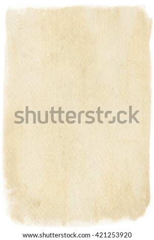 brown empty old vintage paper background. Paper texture #421253920