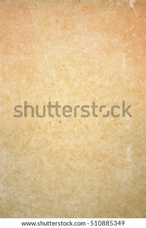 brown empty old vintage paper background. Paper texture - Shutterstock ID 510885349