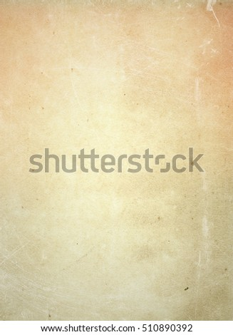 brown empty old vintage paper background. Paper texture - Shutterstock ID 510890392