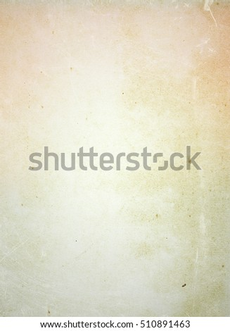 brown empty old vintage paper background. Paper texture - Shutterstock ID 510891463
