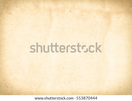 brown empty old vintage paper background. Paper texture - Shutterstock ID 553870444