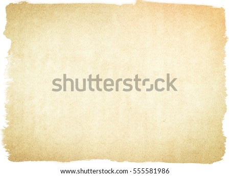 brown empty old vintage paper background. Paper texture - Shutterstock ID 555581986