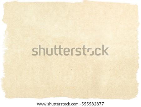 brown empty old vintage paper...