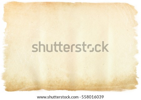 brown empty old vintage paper background. Paper texture #558016039