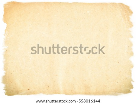 brown empty old vintage paper background. Paper texture #558016144