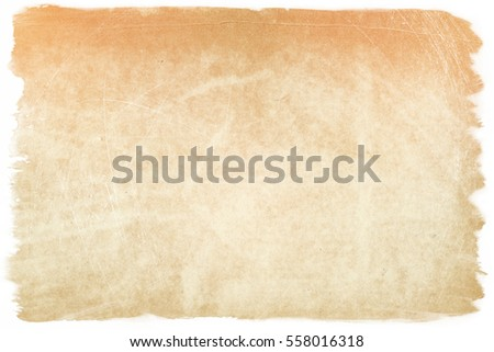 brown empty old vintage paper background. Paper texture #558016318